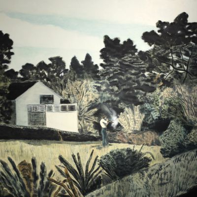 Exposition Peinture contemporaine: Pierre SEINTURIER «The Little House they used to Live in»