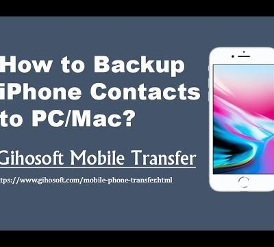 How to Backup iPhone Contacts without iTunes or iCloud