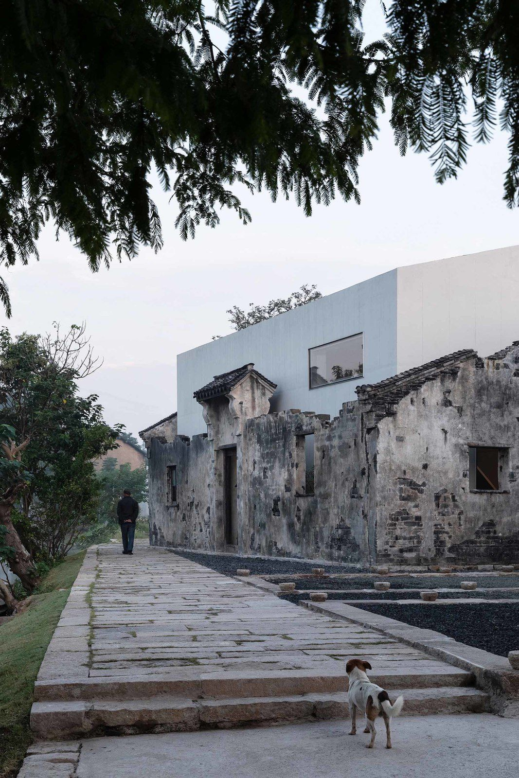 章堰文化馆 / ZHANG YAN CULTURAL MUSEUM IN CHONGGU TOWN, CHINA BY HORIZONTAL DESIGN TEAM
