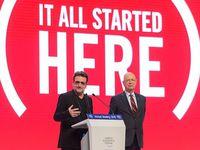 Bono au World Economic Forum Annual Meeting 22/01/2016
