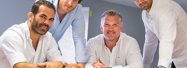 Team One: Vincent Clerc et Grégory Lamboley intègrent le Groupe pour ses 10 ans !