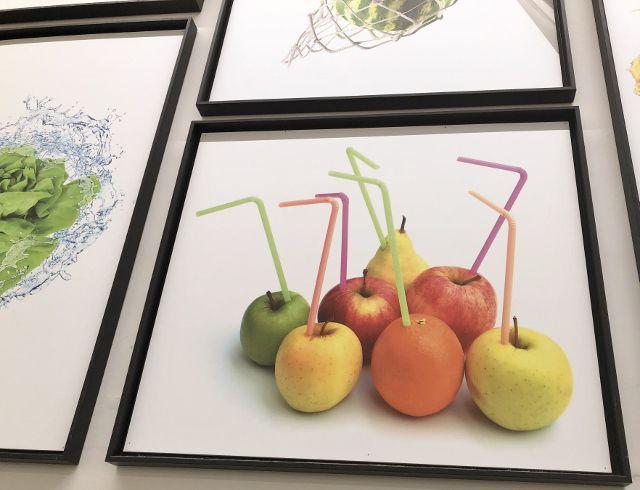 Dessins santé fruits et légumes