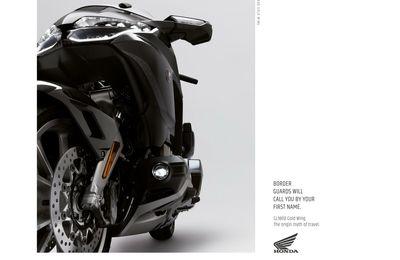 Le plus beau print de la semaine pour HONDA MOTO