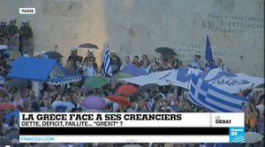La Grèce face à ses créanciers