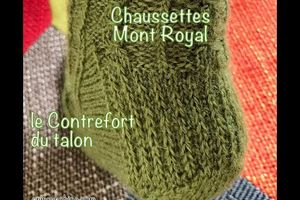 KAL Chaussettes Mont Royal - partie Gousset