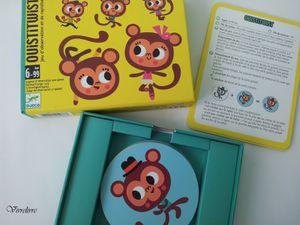 Jouer et découvrir #29 - Jeu de cartes Ouistitwist de Djeco (Dès 6 ans)