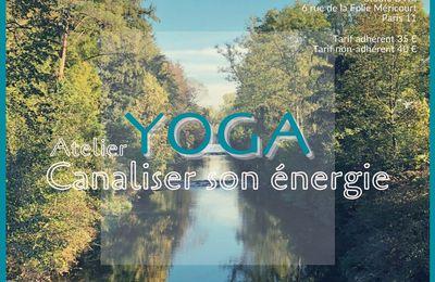 Le premier atelier de yoga de la saison !