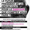 Meeting pour le Darfour mardi 20 mars à la Mutualité
