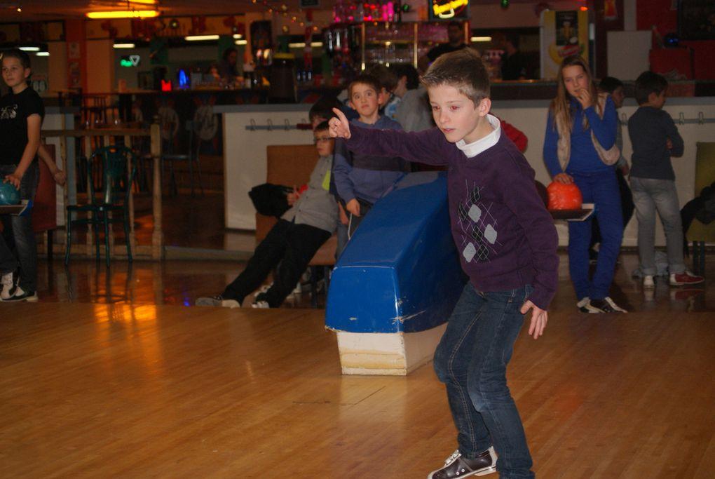 Sortie de noël au bowling