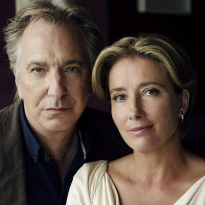 "After all this time... ""The song of lunch"" with Alan Rickman & Emma Thompson"