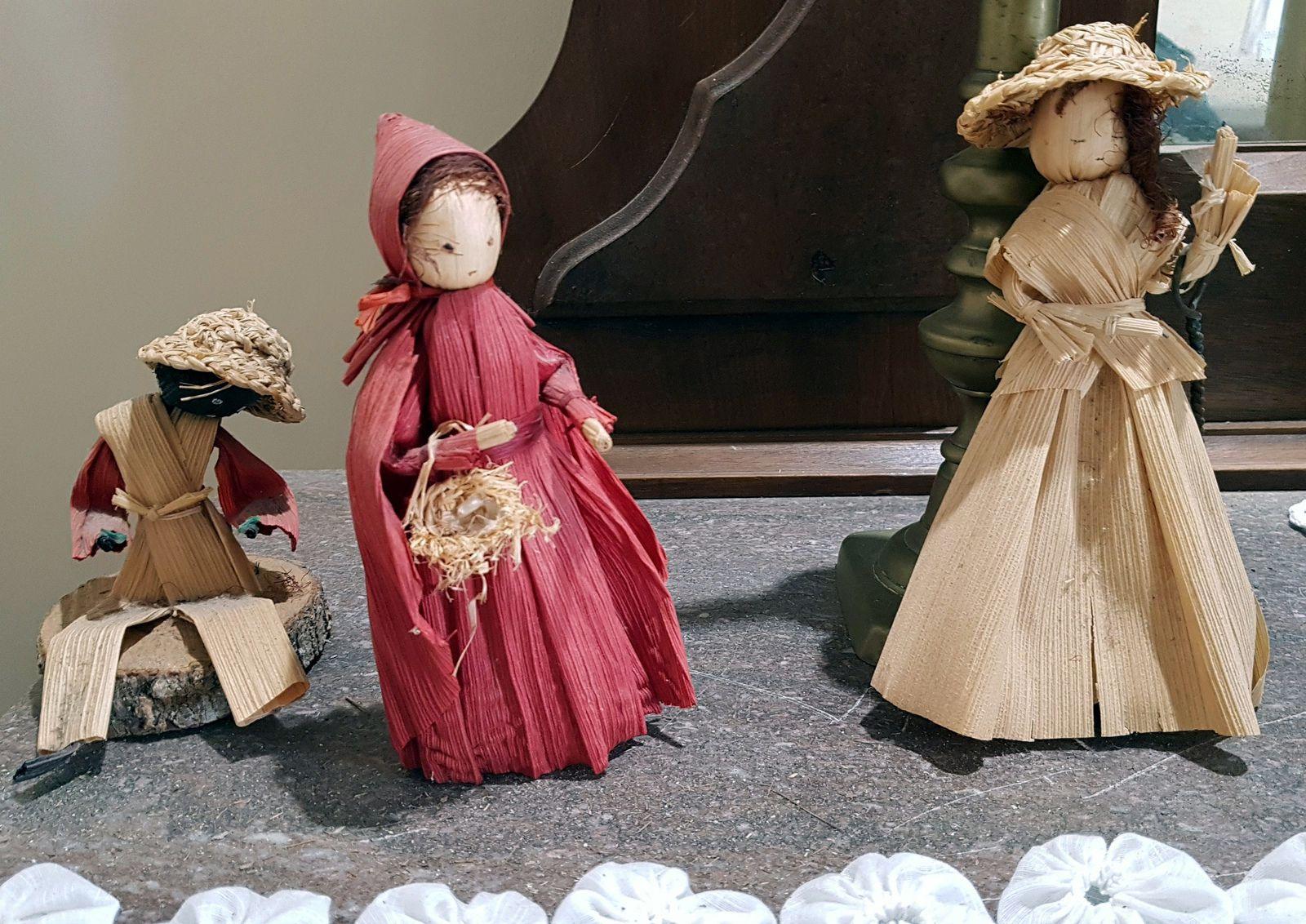 Vermilionville Bucvalt House poupées maïs