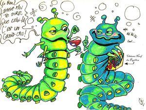 Des dessins pour des journaux de vulgarisation scientifique (Plume!, Grappe)