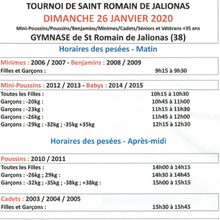 INTERCLUB ST ROMAIN   DIMANCHE 26