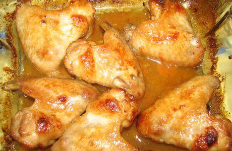 Ailes de poulet caramélisées au miel et citron vert