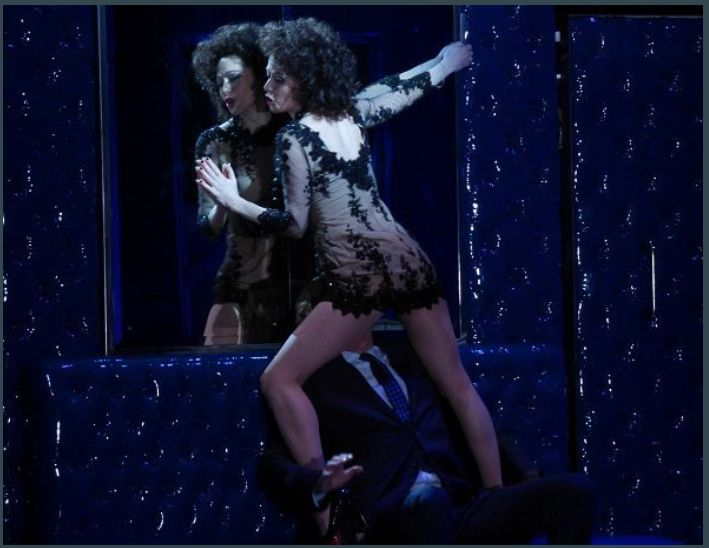 Barbara Hannigan (Donna Anna) et Topi Lehtipuu (Don Ottavio)