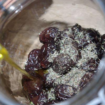 Olives noires de ma colline