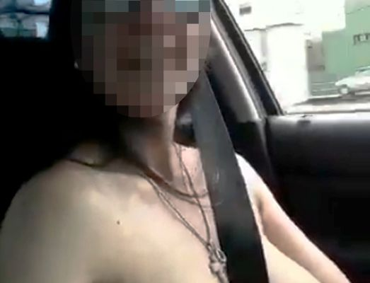 WOMAN GOES TOPLESS IN ARGENTINA WHILE DRIVING || What Do you wanna call this?