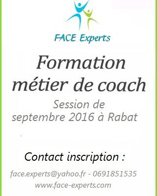 Cycle MASTER COACH : Centre FACE Experts, session de septembre 2016