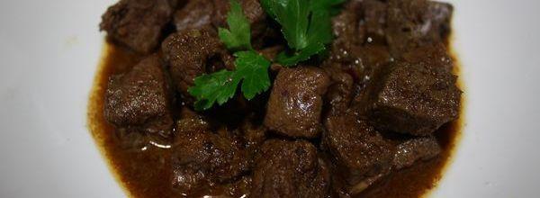 Kebda M'chermla « foie d'agneau en sauce »