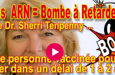 Dr. Sherri #Tenpenny : Toute personne vaccinée décédera dans un délai de 1 à 2 ans (VOFR -Français)