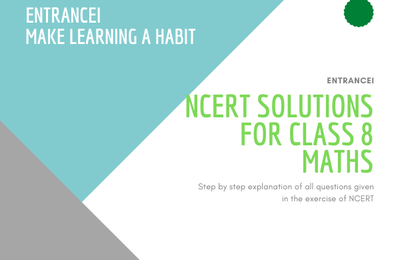 NCERT Solutions for Class 8 Maths - Free PDF Download