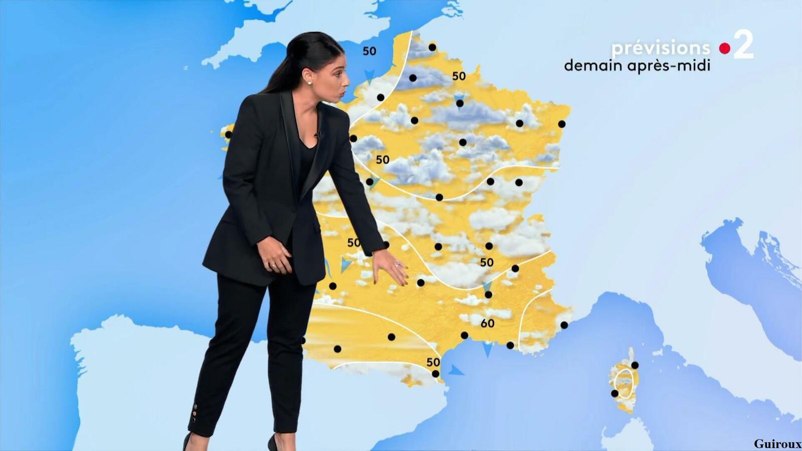 Virginie Hilssone-Lévy 28/08/2021 Journaux météo du midi
