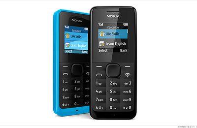 Nokia y su lucrativo teléfono de 20 dólares...