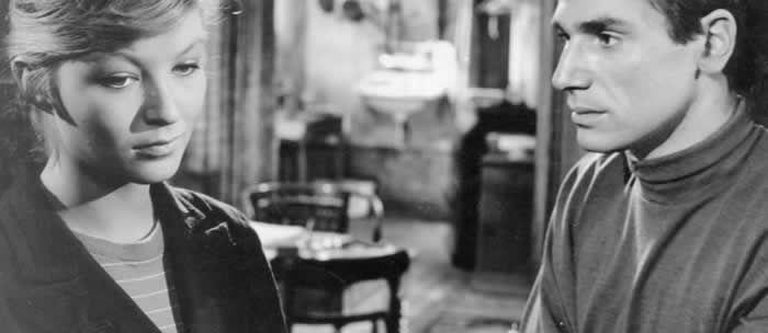 Crime et châtiment en 1956, avec Marina Vlady. © Champs-Élysées Productions AFP