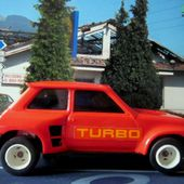 RENAULT 5 TURBO ROUGE JOUSTRA - car-collector.net