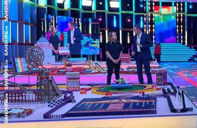 Les chiffres fous de Domino Challenge sur M6 ! (Vidéo) #DominoChallenge
