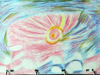 Relevés manuscrits : C'est  Patrick Giroldi qui, en notre absence, (Semaines de congé d'Été de fin Juin à fin-Juillet 1983), a pris en charge la rédaction de ces journées. - dessins de Jean-Louis Beuché (Feu de la Saint Jean)et de Gérrd Pignède (Couché de soleil au solstice) ;