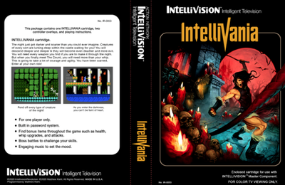 Avec Intellivania, j'ai des Intellivisions !
