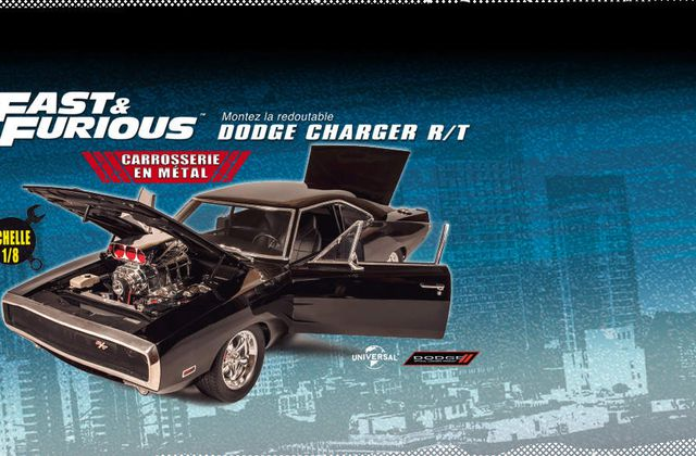 Altaya : Construisez la Dodge Charger R/T Fast & Furious