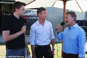 Martin Brundle et David Coulthard commenteront ensemble sur la BBC