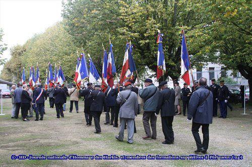 Journée nationale d'Hommage des Harkis, et membres des formations supplétives à Périgueux (24)