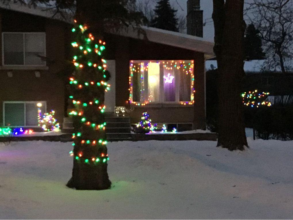 Ambiance de Noël au Canada par Alfred Andrieu