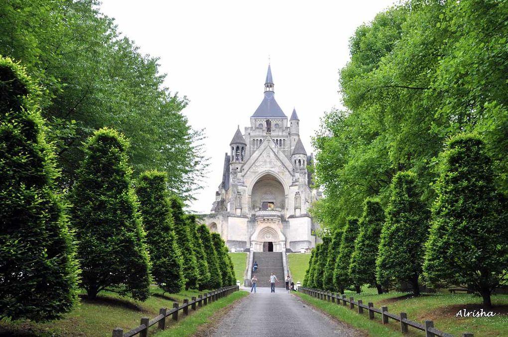 Dans le parc du château
