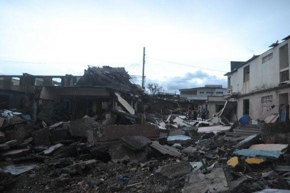 Efficacité cubaine face à l'ouragan