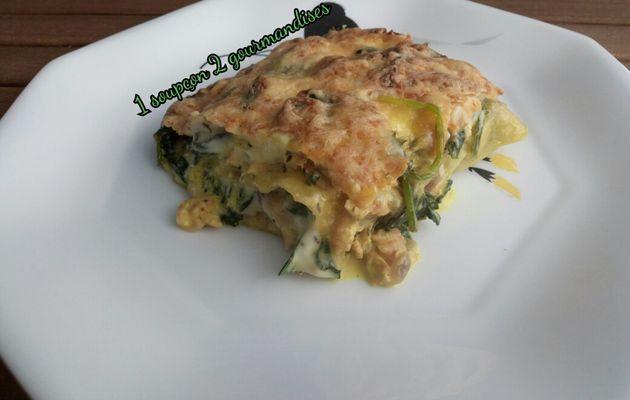 Lasagne aux 2 Saumons et Epinards