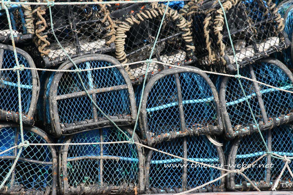 Ambiance de Ports Bretons - Les filets de pêche - Photos Thierry Weber Photographe La Baule Guérande