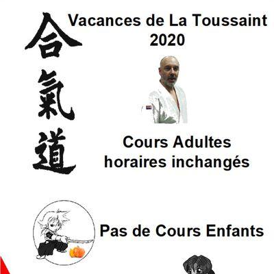 aikido la roche sur yon vendee aikikai yonnais vacances de toussaint 2020