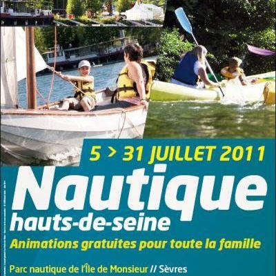 Sports Nautiques pour tous en Juillet dans les Hauts de Seine