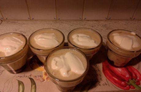 Trifle à ma façon aux bananes et au caramel
