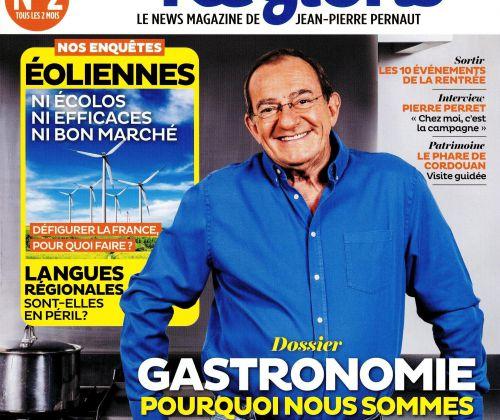 Parution du numéro 2 d'Au coeur des régions, le magazine de Jean-Pierre Pernaut.