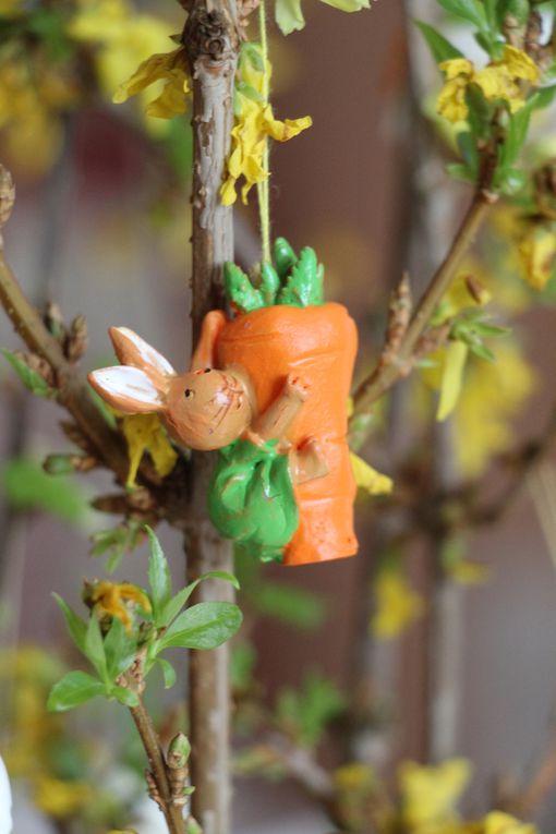 Décorations de Pâques à la maison