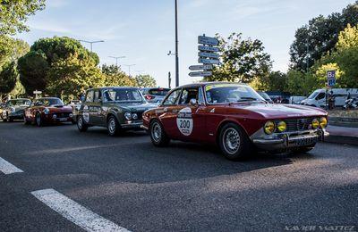 Tour Auto 2020 : l'arrivée à Toulouse