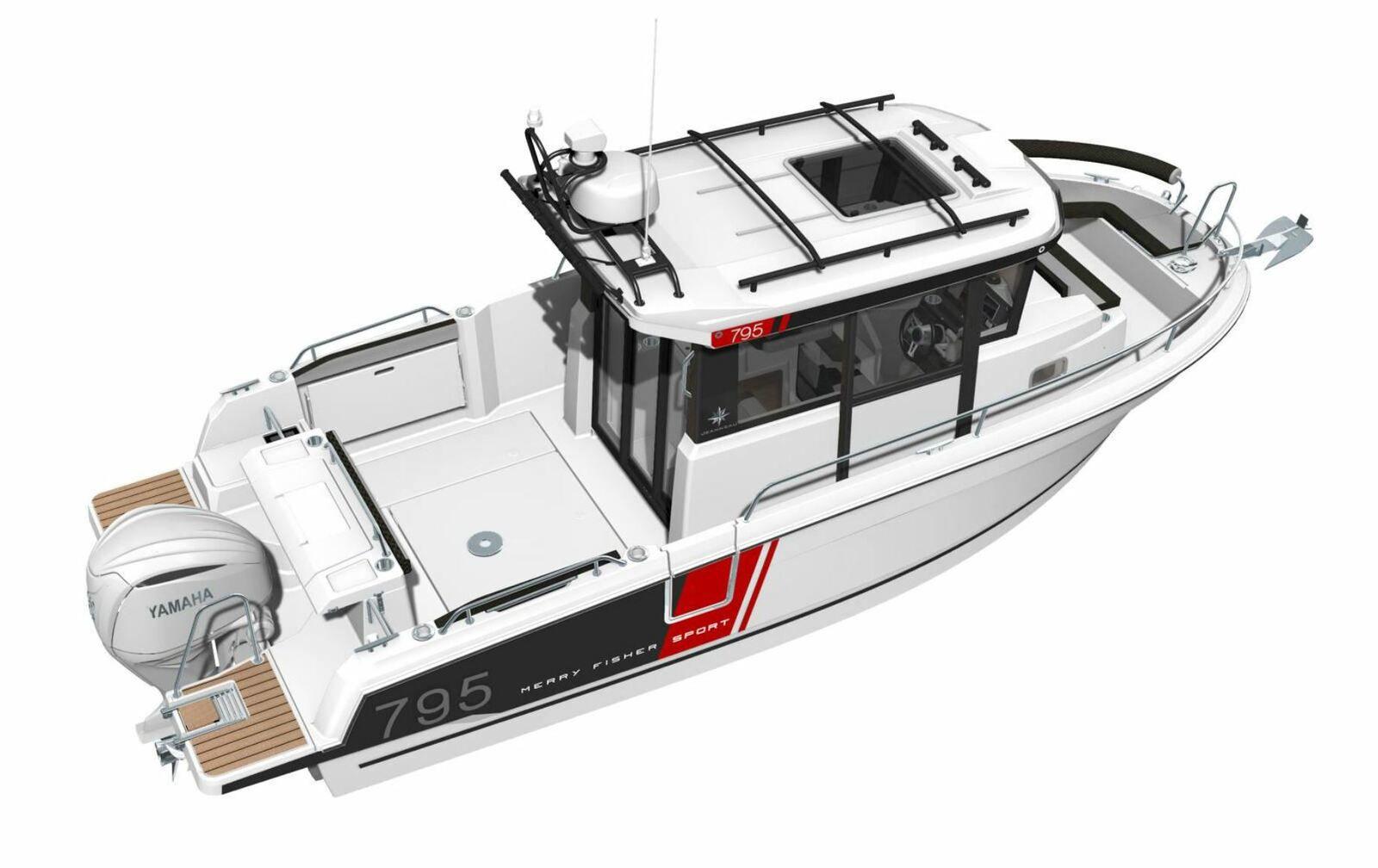 New powerboat 2021 - Jeanneau Merry Fisher Sport 795 Serie 2