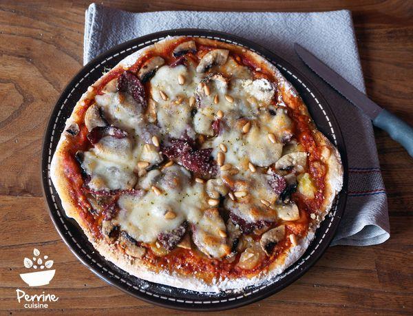 Pizza périgourdine