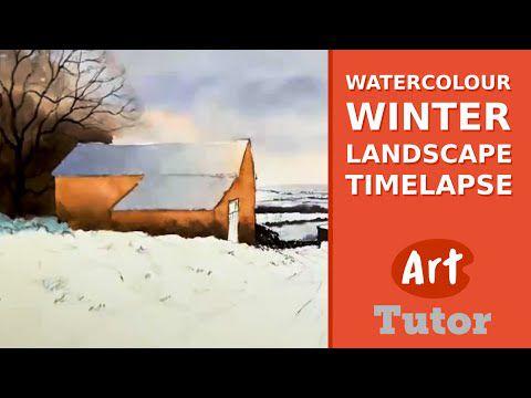 paysage de neige - Geoff Kersey