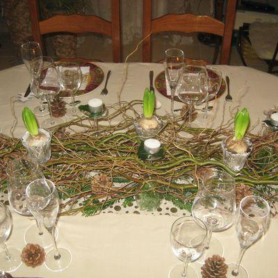Centre de table pour vos Fêtes de fin d'Année